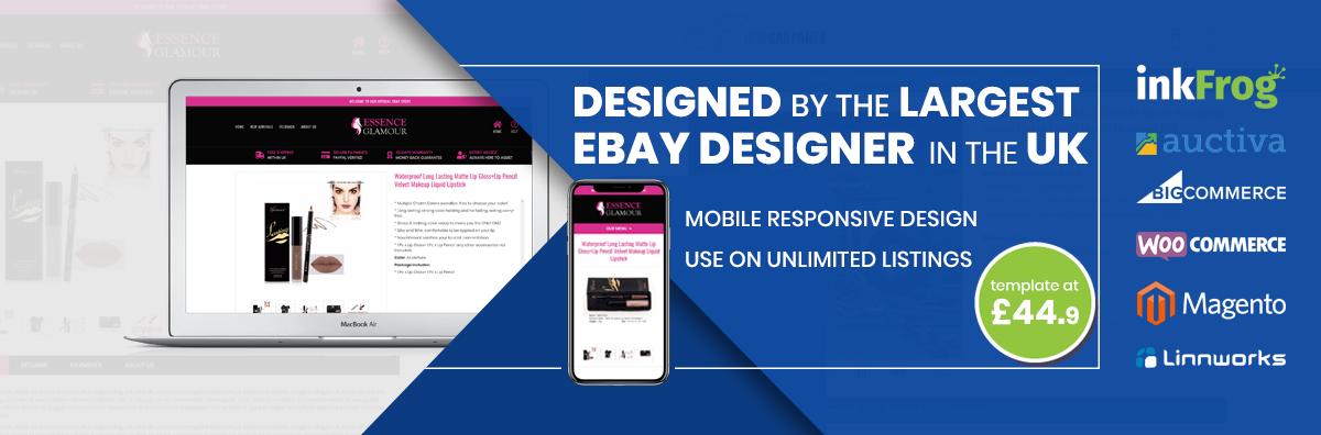 Custom Mobile Responsive Ebay Shop Listing Template Design Https Ready 2020 Ebay